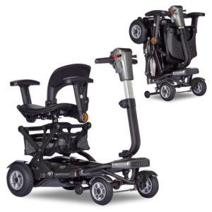 brio 4 auto swiverl seat titanium